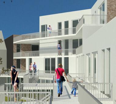 Architecten Groep III - Cohousing Kortrijk