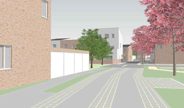 Architecten Groep III Gaffelhoek Beeld6