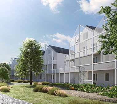 Architecten Groep III - Militaire Gebouwen Brugge 380x340